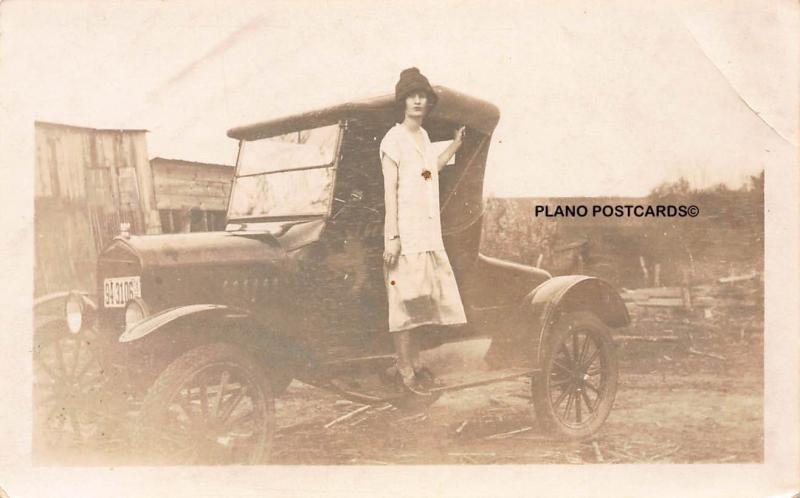 EARLY 1900'S PHOTO OF VINTAGE COUPE  REAL PHOTO, NOT A POSTCARD