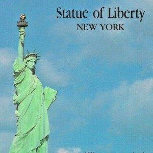 Statue of Liberty 1988 Postcard Factory Canada Frederic Bartholdi Eiffel USA