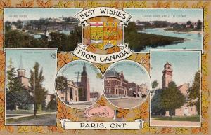 PARIS , Ontario, 00-10s ; Best Wishes from Canada, 6-views