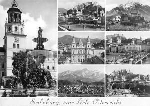 BG2996  salzburg multi views  CPSM 14x9.5cm austria