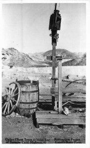 Barstow California Calico Ghosttown Route 66 RPPC Photo Postcard 20-11633