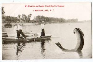 Fishing, Big Fish, Madison Lake NY