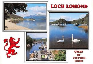 Loch Lomond Queen of Scottish Lochs River Leven at Balloch Ben Lomond