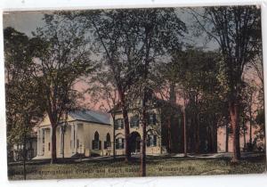 Congregational Church & Court House, Wiscasset MO