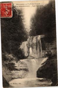 CPA   Excursin en Franche-Comte - La Grace-Dieu - Les Cascades  (182815)
