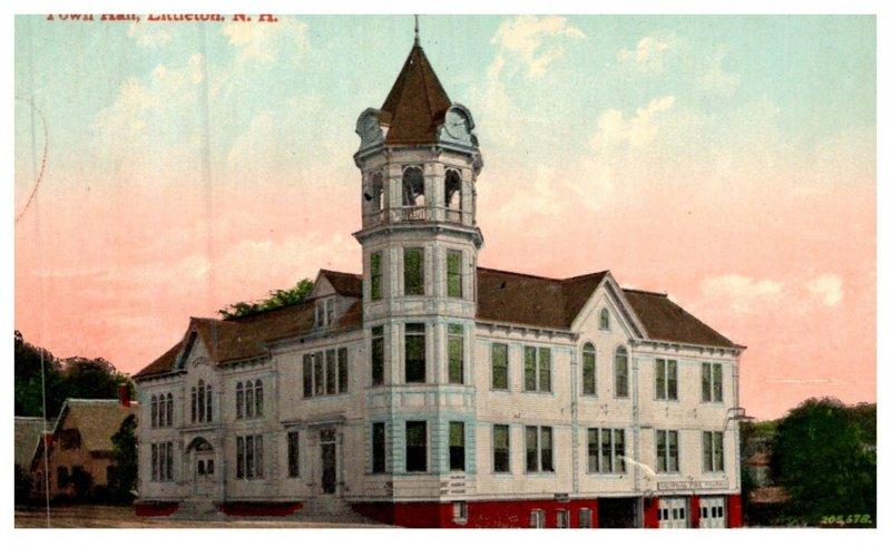 New Hampshire Littleton , Town Hall