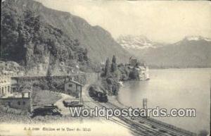 Chillon et la Dent du Midi Swizerland, Schweiz, Svizzera, Suisse  Chillon et ...