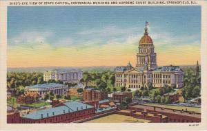Aerial View, State Capito, Centennial Building, Supreme Court Building, SPRIN...