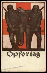 German WWI Army Patriotic Red Cross DRK Donation 79728
