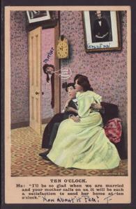 Ten O'Clock Postcard