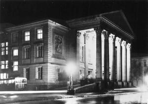 Meiningen Das Meininger Theater Theatre Night view