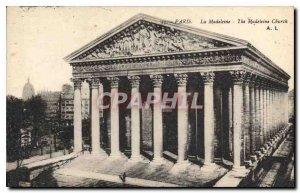 Postcard Old Paris Madeleine