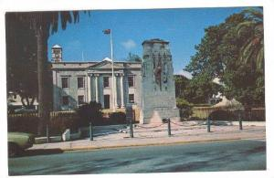 The Cenotaph Commemorating Those Who fell In The Two World Wars, Bermuda's Ho...