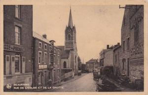 Belgium Beauraing Rue de l'Eglise et de la Grotte