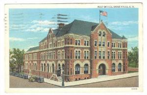 Exterior, Post Office,Sioux Falls,South Dakota,PU-1933