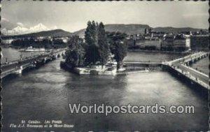 les Ponts Geneve Swizerland Postal Used Unknown