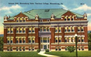 Pennsylvania Bloomsburg State Teachers College Science Hall