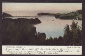 Bear River Bridges,Bear River,NS,Canada