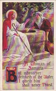 Jesus With A Woman Of Samaria