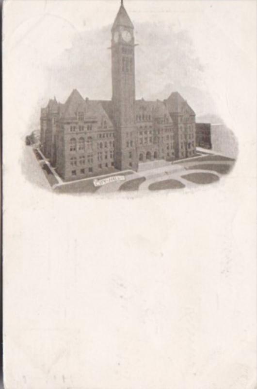 Canada Toronto City Hall 1905