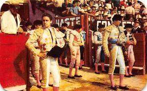 Torros en Mexico, Bull Fight Tarjeta Postal Bullfighting Unused