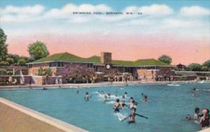 Wisconsin Baraboo Municipal Swimming Pool