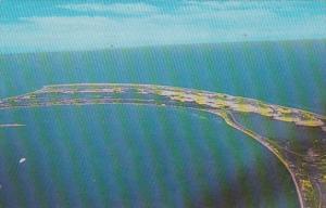Massachusetts Cape Cod Provincetown Aerial View 1966
