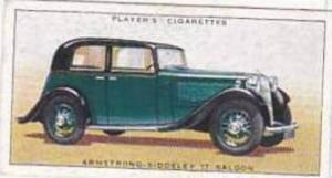Player Vintage Cigarette Card Motor Cars 1st Series 1936 No 5 Armstrong Sidde...