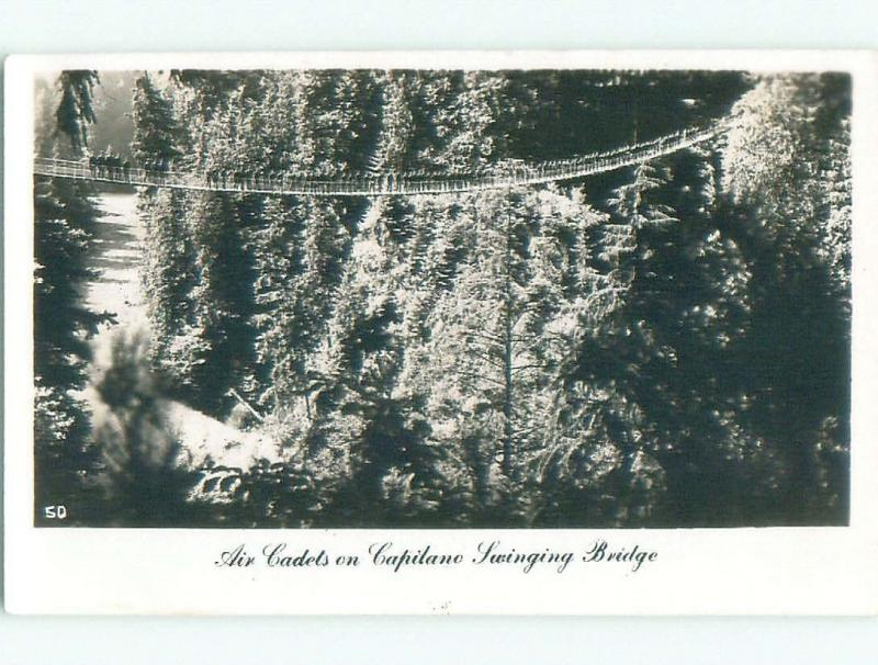 old rppc NICE VIEW Capilano - North Vancouver British Columbia BC W0800