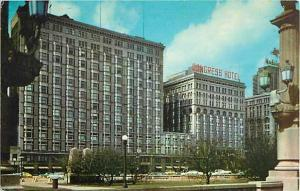The Pick-Congress Hotel Chicago Illinois IL, Michigan & Congress Parkway, Chrome