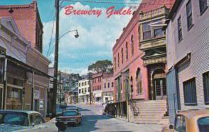 Arizona Bisbee World Famous Brewery Gulch Street Scene