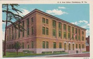 West Virginia Clarksburg Post Office Curteich