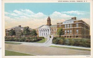 New York Oswego State Normal School Curteich