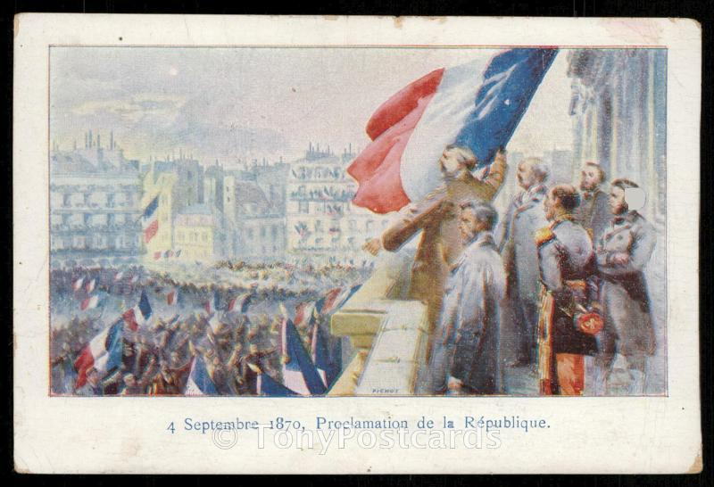 4 Septembre 1870 - Proclamation de la Republique