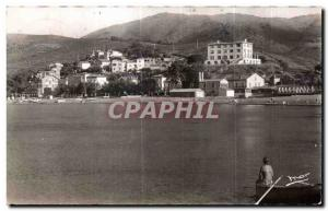 Old Postcard Cote Vermeille Banyuls The Beach