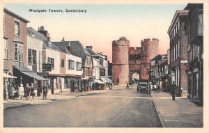 BR81431 westgate towers canterbury   uk