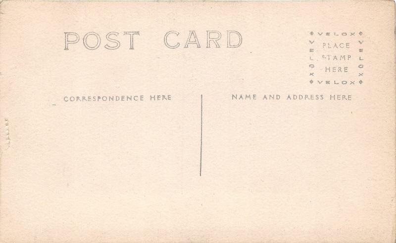 F25/ Interesting RPPC Photo Postcard c1910 Early Biplane Aviation 12