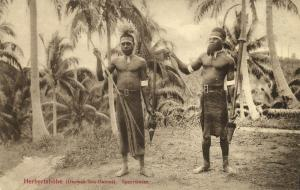 Bismarck Archipelago PNG, New Britain, Kokopo Herbertshöhe, Native Spear Dancers