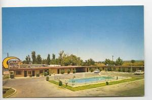 Las Cruces NM Villa Motel 1785 South Main Street Old Cars Postcard