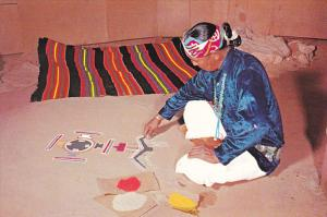 Navajo Indian Sand Painter Arizona