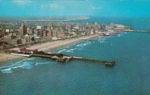 Aerial View Showing Pier Atlantic City New Jersey