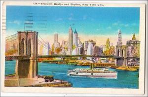 Brooklyn Bridge & Skyline NYC