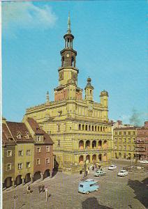 Poland Poznan Ratusz obecnie Muzeum Historii Miasta Poznania