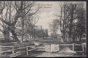 Hampshire Postcard - St Cross Church From Meadows, Winchester    RS248