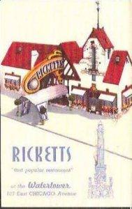 IL Chicago Ricketts Restaurant 1946