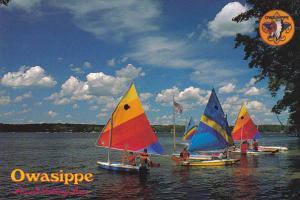 MIchigan Fosset Sailing Base Owasippe Near Whitehall Boy Scout Camp