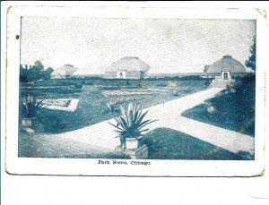 Chicago, IL - Park Scene - Early 1900s