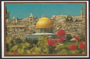 Israel, Jerusalem, View from Mount of Olives, unused