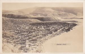 RP: Aerial View of Dawson City, Yukon, Canada, 1930-50s #2