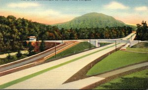 Pennsylvania Turnpike One Of The Interchanges Showing Fort Littleton Entrance...
